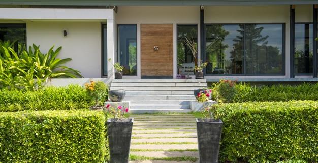 decoración exterior
